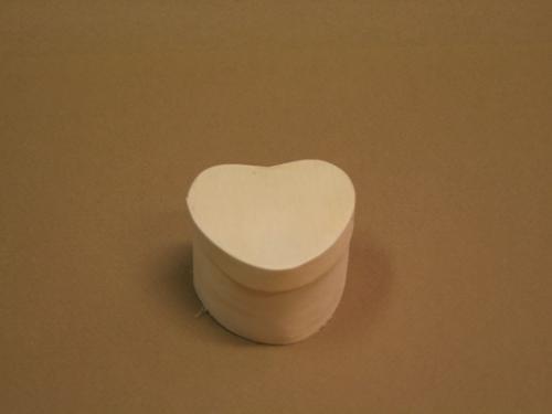 Háncs doboz, szív alakú pici - KreatívHobbyLabor.hu