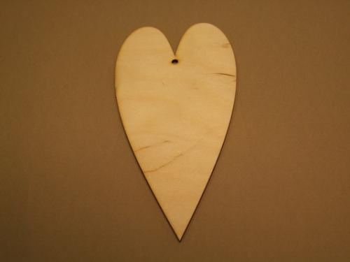 Hosszú szív forma - KreatívHobbyLabor.hu