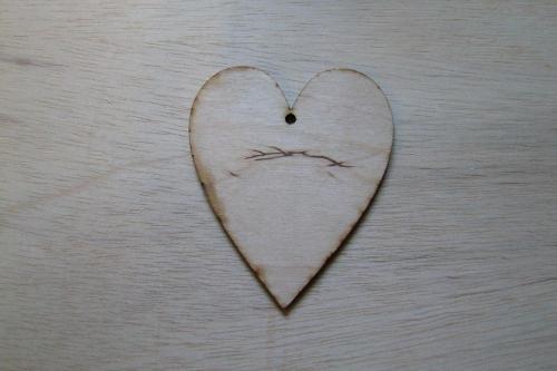Fa szív - KreatívHobbyLabor.hu