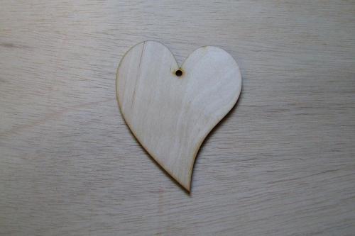 Fa francia szív - KreatívHobbyLabor.hu