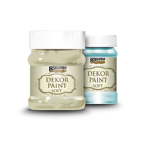 Dekor paint soft 500 ml, 1L