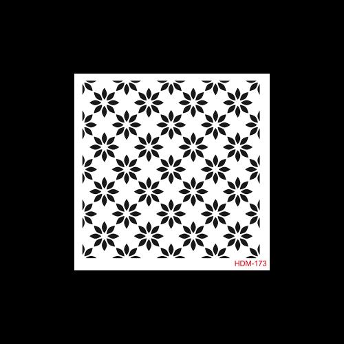 Cadence stencil 25x25cm - KreatívHobbyLabor.hu