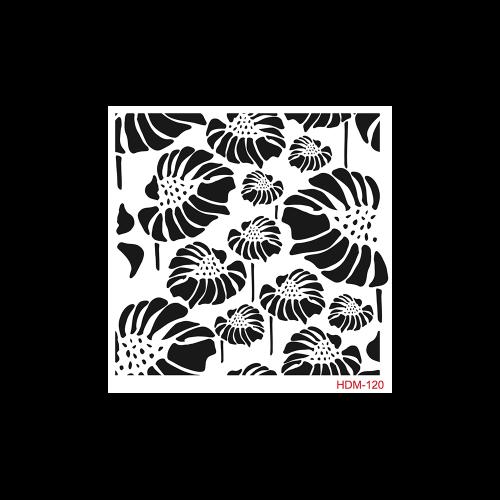 Cadence stencil 25x25 cm