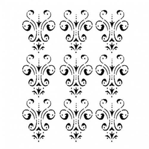 Cadence stencil 25x35 cm