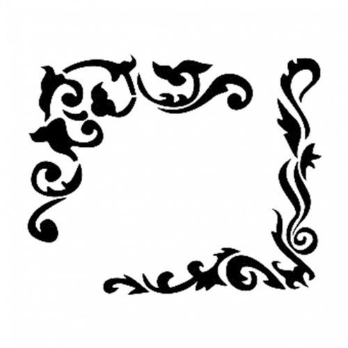 Cadence stencil 22x22 cm - KreatívHobbyLabor.hu