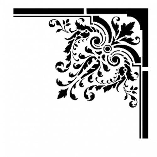 Cadence stencil 22x22 cm