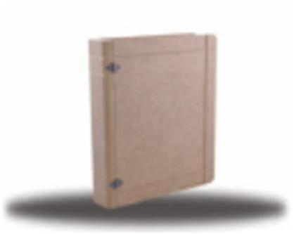 MDF könyv alakú doboz - KreatívHobbyLabor.hu