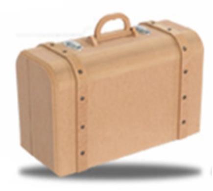 MDF Bőrönd - KreatívHobbyLabor.hu