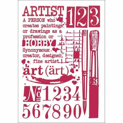 Stamperia stencil A/4 - KreatívHobbyLabor.hu