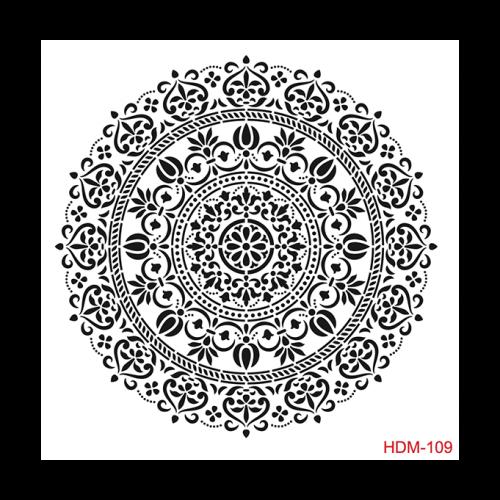 Cadence stencil HDM-109 25x25 cm - KreatívHobbyLabor.hu