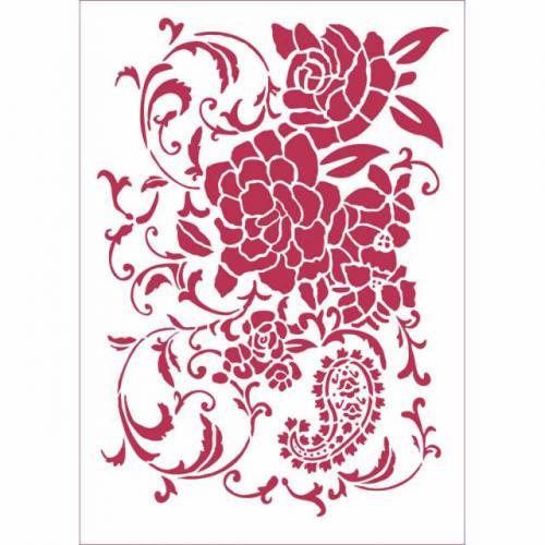 Stamperia stencil KSG432 A/4  - KreatívHobbyLabor.hu