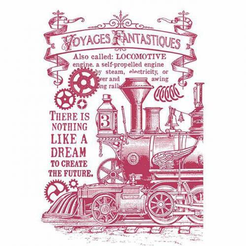Stamperia stencil KSG430 A/4  - KreatívHobbyLabor.hu