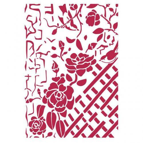 Stamperia stencil KSG440 A/4  - KreatívHobbyLabor.hu