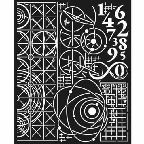 Stamperia stencil KSTD042 20x25 cm