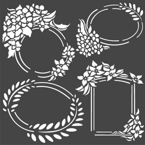 Stamperia stencil KSTDQ45 - KreatívHobbyLabor.hu