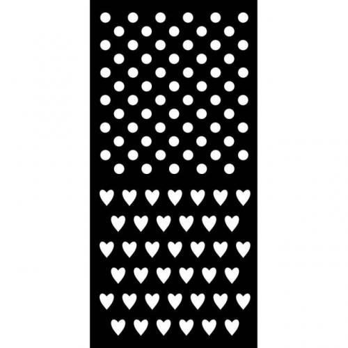 Stamperia stencil KSTDL29 12x25 cm - KreatívHobbyLabor.hu